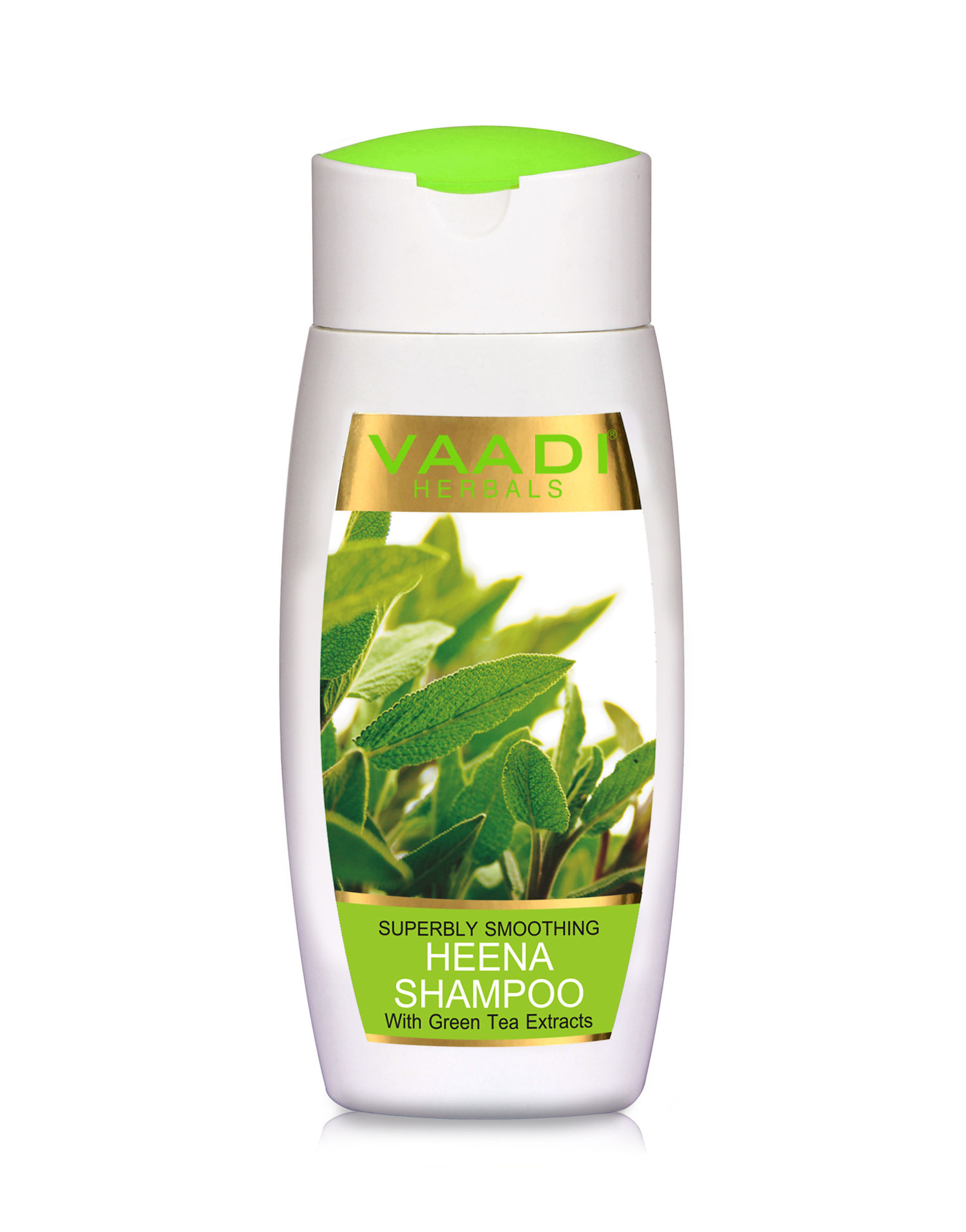 Vaadi Herbals With Green Tea Extracts Superbly Smoothing Heena Shampoo 110ml