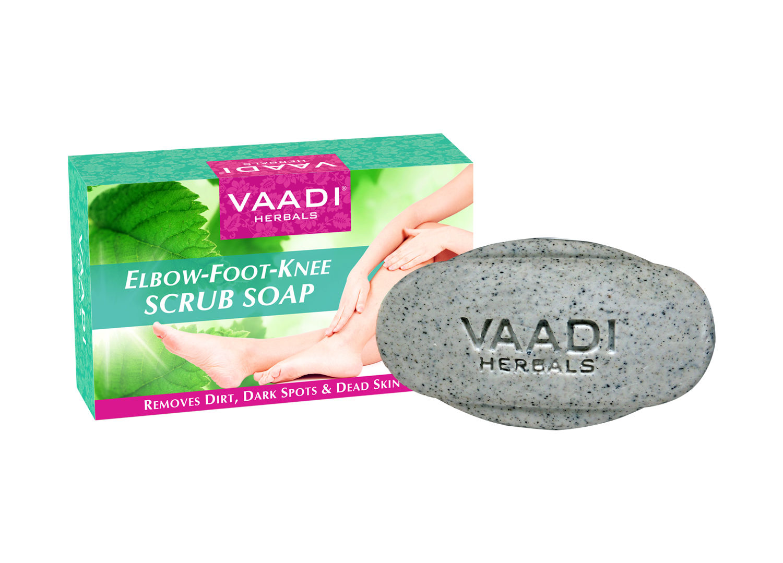 Bar Soaps Vaadi Herbals Lavish Almond Soap Cleanses Skin Keep Your Skin Soft 75g Pack Of 6 Bath & Body