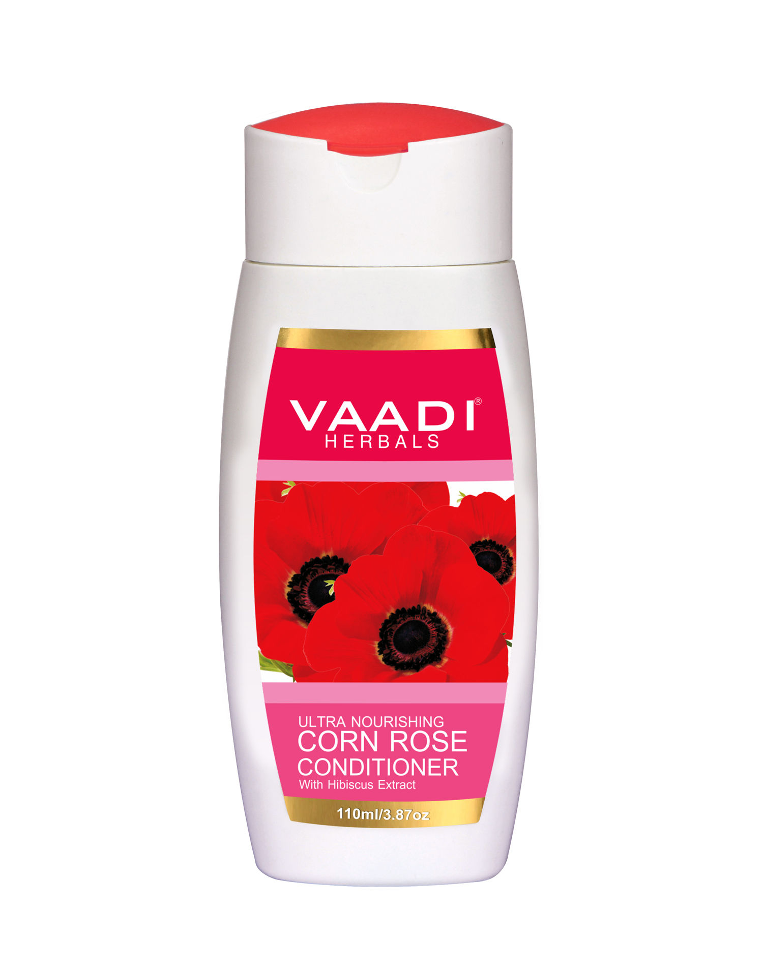 Vaadi Herbals With Hibiscus Extract Corn Rose Conditioner 110ml