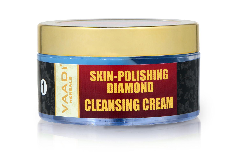 Vaadi Herbals Skin Polishing Diamond Cleansing Cream (50gm)