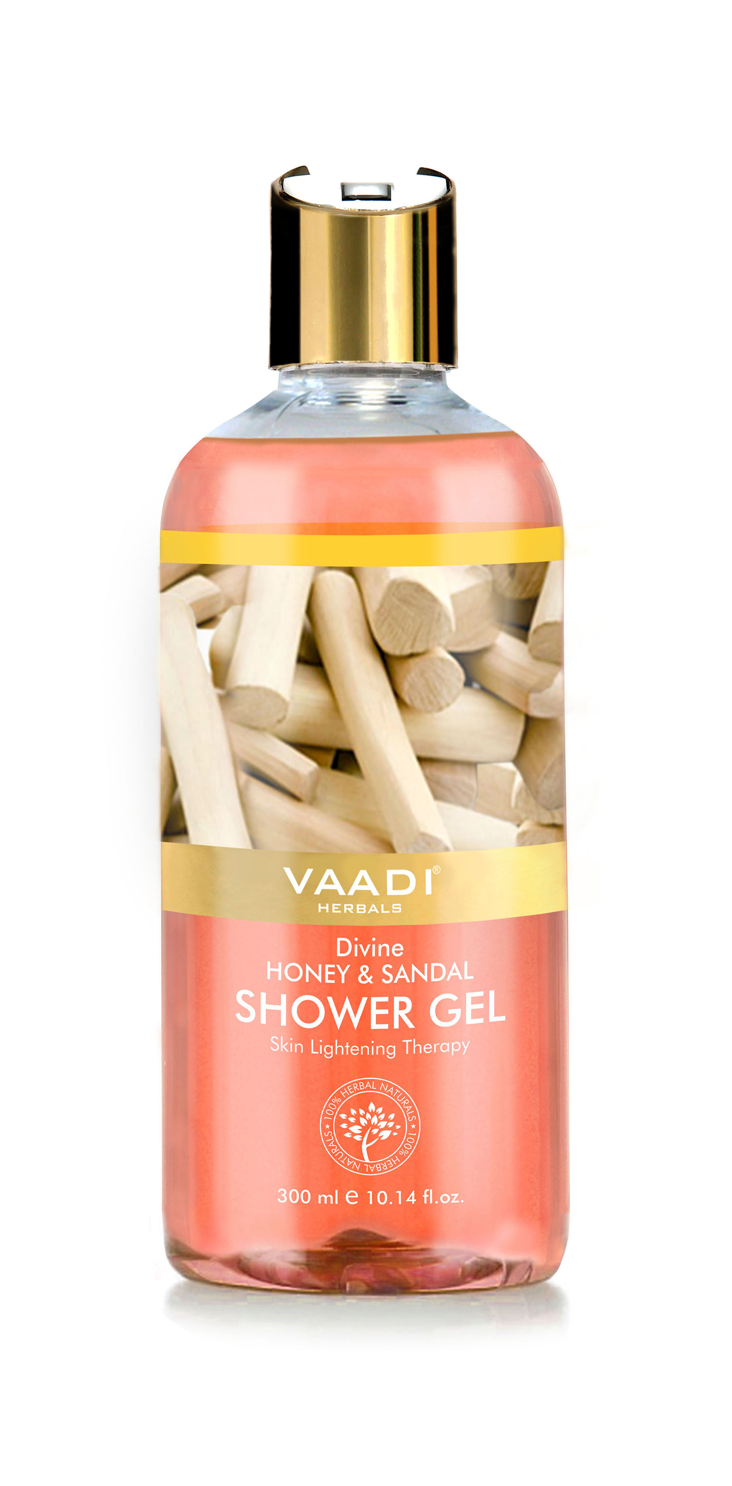 Vaadi Herbals Divine Honey & Sandal Shower Gel, 300 ML
