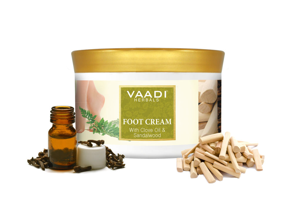 Vaadi Herbals With Clove & Sandal Oil Foot Cream (500gm)