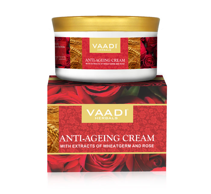 Vaadi Herbals Anti Ageing Cream, 150 GM