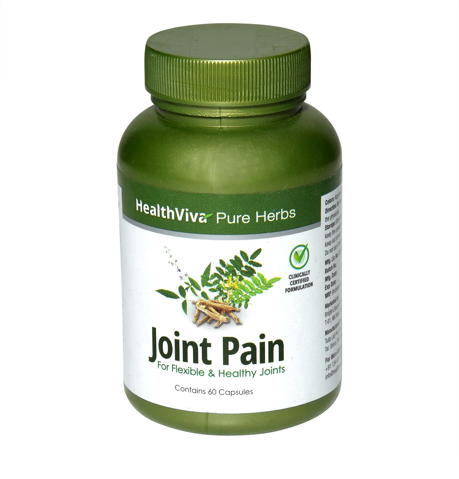 HealthViva Pure Herbs Joint Pain
