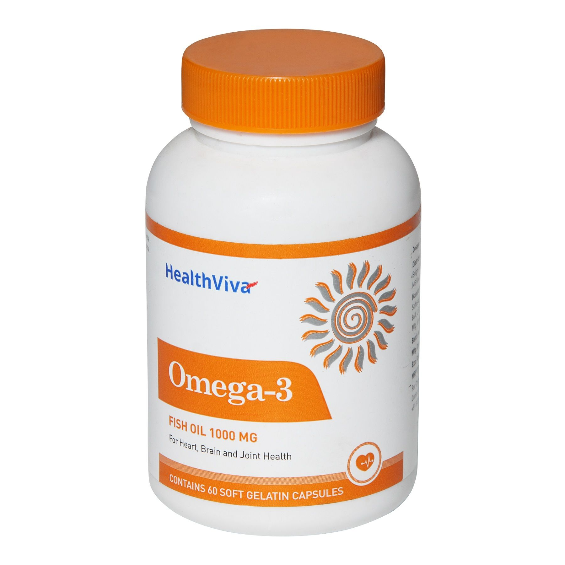HealthViva Omega - 3 Supplement