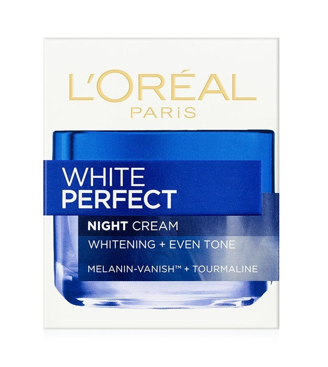 Loreal Paris White Perfect Night Cream Whitening + Even Tone (50ml)