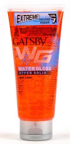 Gatsby Water Gloss Hyper Solid Hair Gel (Red)