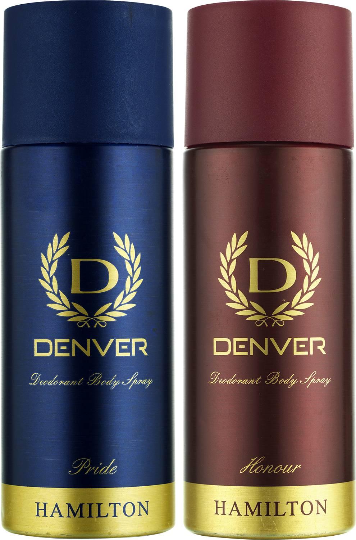 Denver Pride and Honour Deodorant Combo (Pack of 2)