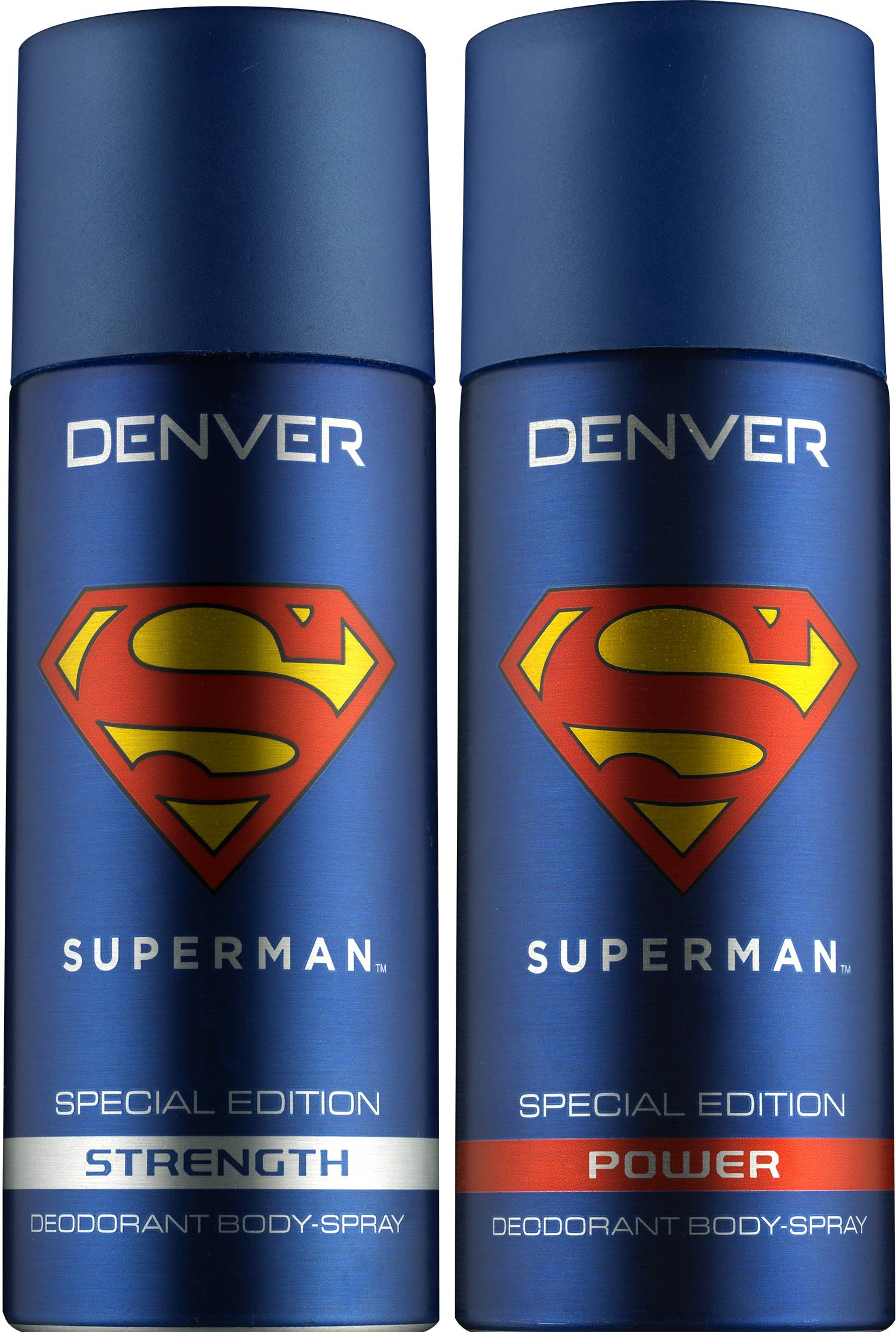 Denver Superman Strength and Power Deodorant Combo (Pack of 2)