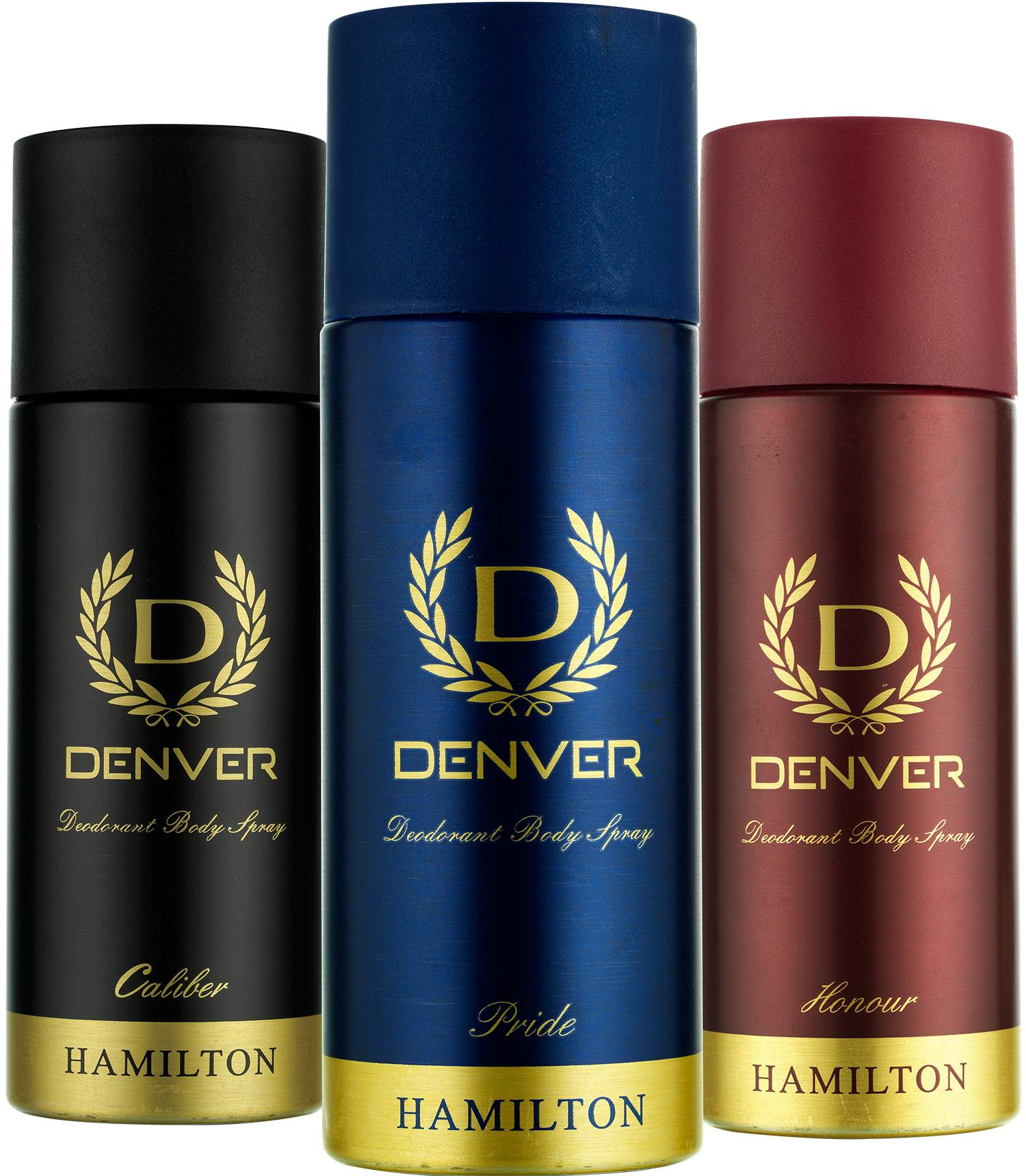 Denver Caliber, Pride and Honour Deodorant Combo (Pack of 3)