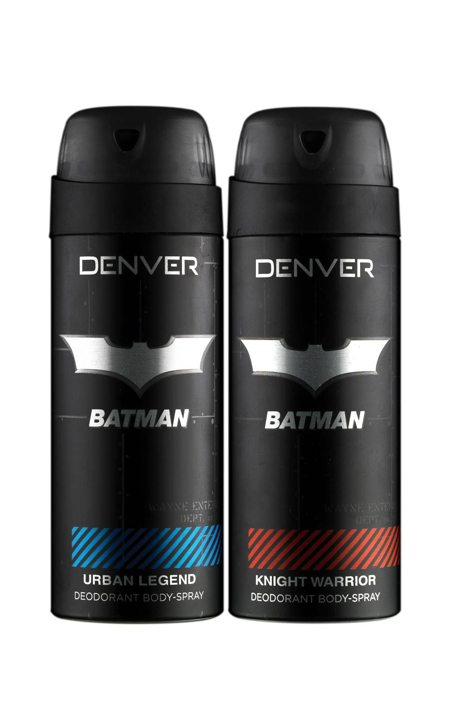 Denver Batman Urban Legend and Knight Warrior Deodorant Combo (Pack of 2)