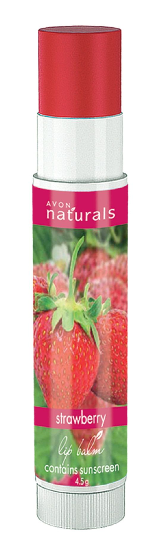 Avon Naturals Lip Balm 4.5 GM Strawberry