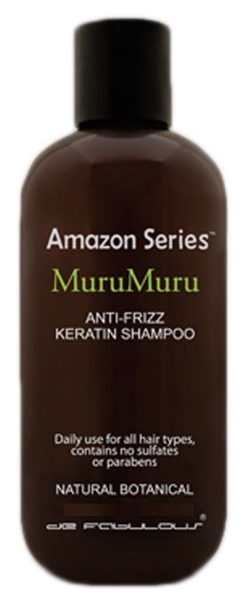 Amazon Series MuruMuru Anti-Frizz Keratin Shampoo