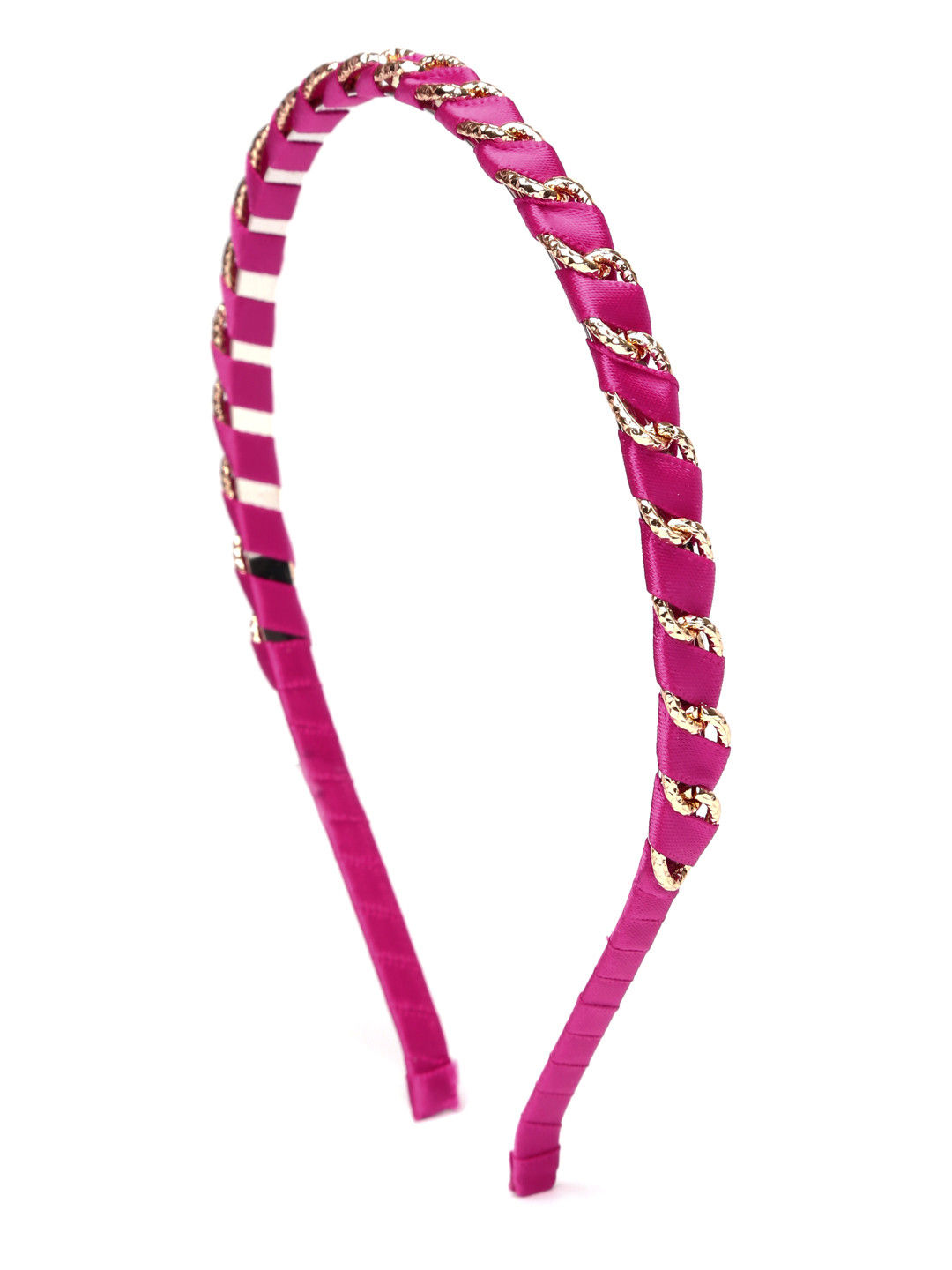 Toniq Fuschia Wired Hair Band