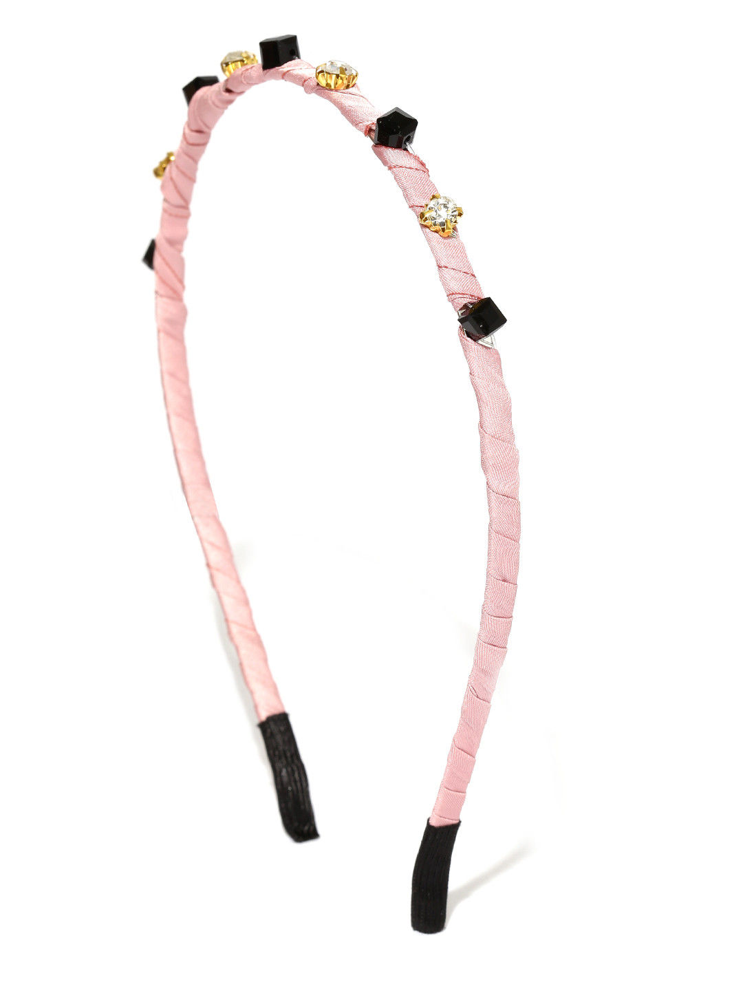 Toniq Pink Embellished Hair Band