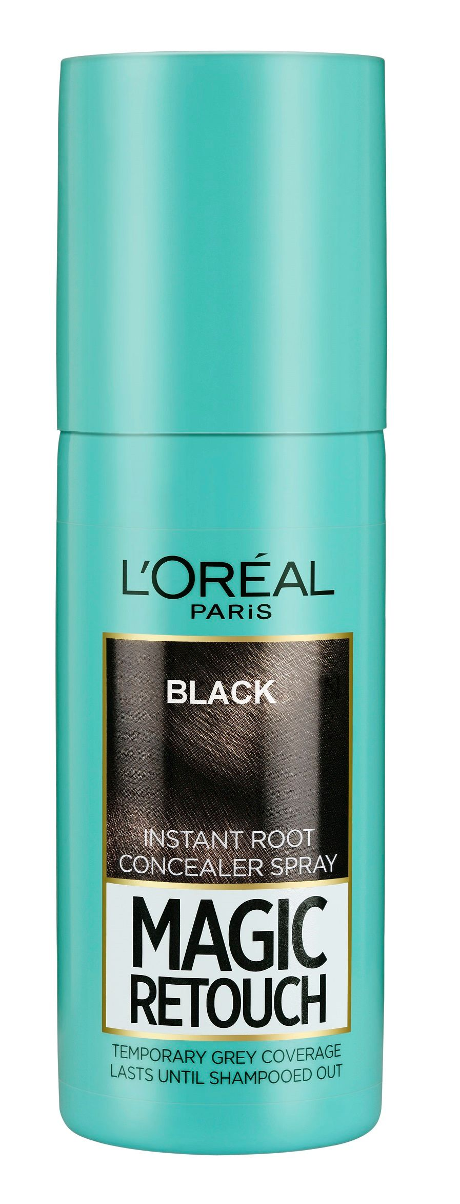 L'Oreal Paris Magic Retouch Instant Root Concealer - 1 Black, 75ml