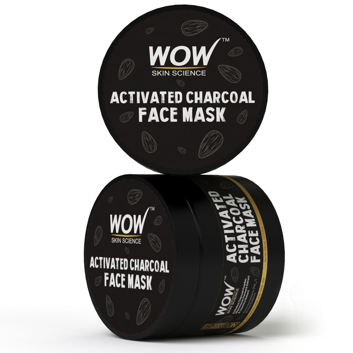 Buy WOW Skin Science Activated Charcoal Face Mask at Nykaa com