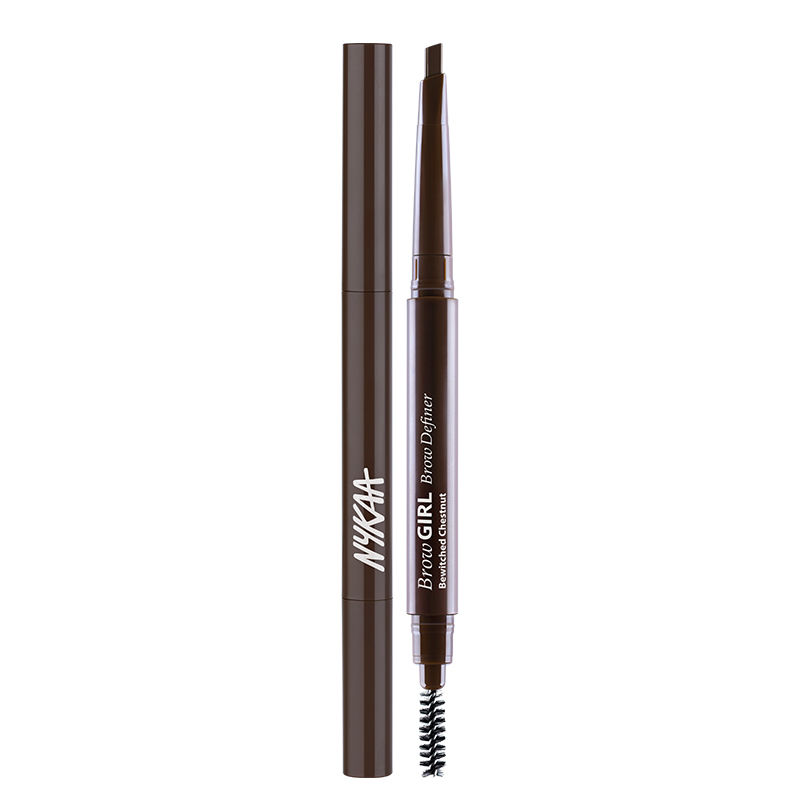 Nykaa Browgirl Brow Definer - Bewitched Chestnut