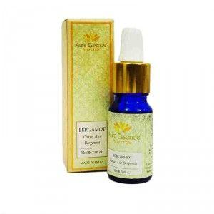 Buy Aura Essence Pure Bergamot Essential Oil - Nykaa