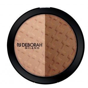 Buy Deborah Duo Contouring Palette - Bronzer & Highlighter - Nykaa