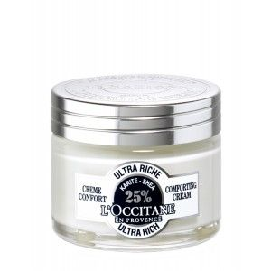 Buy L'Occitane Shea Butter Ultra Rich Comforting Face Cream - Nykaa
