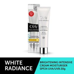 Buy Olay White Radiance Brightening Intensive Day Cream SPF24 UVA Moisturiser - Nykaa