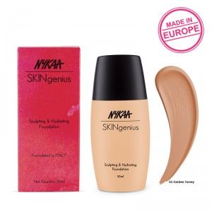Buy Nykaa SKINgenius Sculpting & Hydrating Foundation - Nykaa