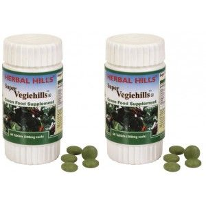 Buy Herbal Hills Super Vegiehills Tablets (Buy 1 Get 1) - Nykaa