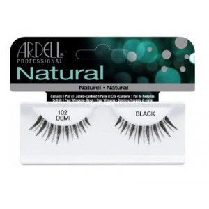 Buy Ardell Natural Strip Lashes - 102 Demi Black - Nykaa