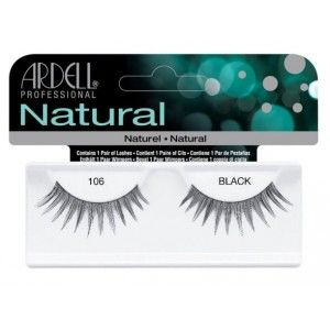 Buy Ardell Natural Strip Lashes - 106 Black - Nykaa