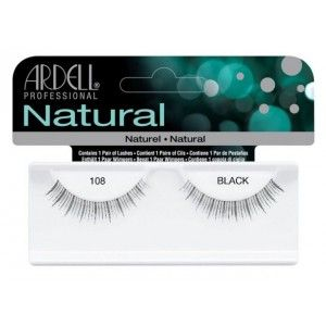 Buy Ardell Natural Strip Lashes - 108 Demi Black - Nykaa
