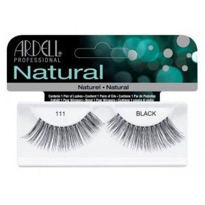 Buy Ardell Natural Strip Lashes - 111 Black - Nykaa