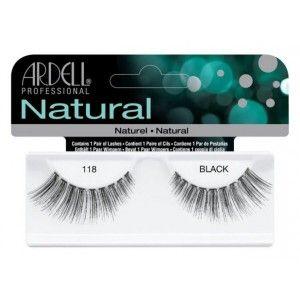 Buy Ardell Natural Strip Lashes - 118 Black - Nykaa
