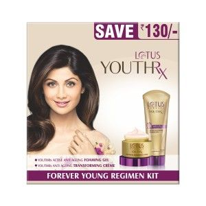 Buy Lotus Herbals Youthrx Forever Young Regimen Kit (Rs.130 Off) - Nykaa