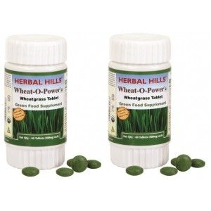 Buy Herbal Hills Wheat-O-Power Tablet (Buy 1 Get 1) - Nykaa