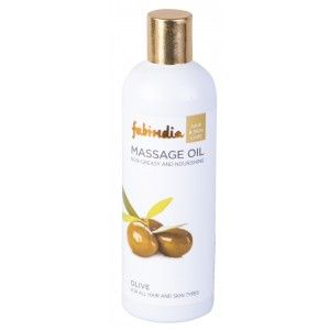 Buy Fabindia Olive Massage Oil Non-Greasy And Nourishing Hair Oil - Nykaa