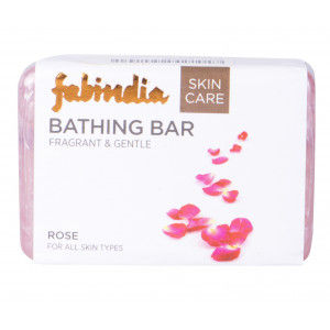 Buy Fabindia Rose Soap - Nykaa