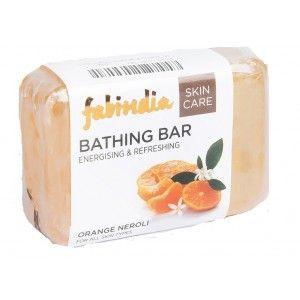 Buy Fabindia Bathing Bar Energising & Refreshing Skin Care - Nykaa