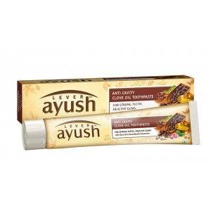 Buy Lever Ayush Anti Cavity Clove Oil Toothpaste - Nykaa