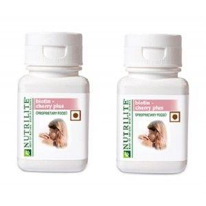 Buy Amway Nutrilite Biotin Cherry Plus (Proprietary Food) - Pack of 2 - Nykaa