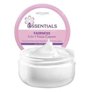 Buy Oriflame Essentials Fairness 5 In 1 Face Cream - Nykaa