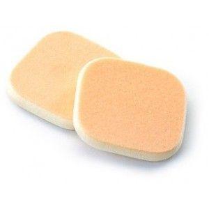 Buy Basicare 2 Flock/NBR Foundation Sponges Extra Fine Texture - Nykaa