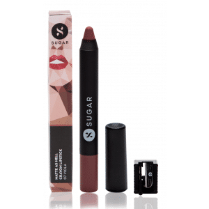Buy SUGAR Matte As Hell Crayon Lipstick - Nykaa