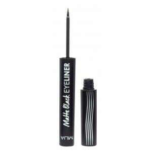 Buy MUA Matte Black Eyeliner - Nykaa