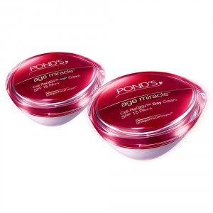 Buy Ponds Age Miracle Deep Action Night Cream + Daily Resurfacing Day Cream - Nykaa