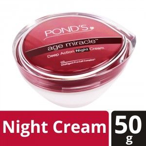 Buy Ponds Age Miracle Night Cream - Nykaa