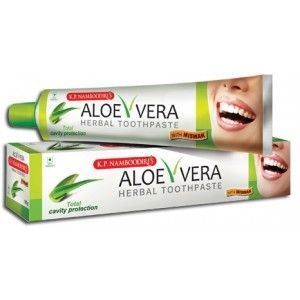Buy K.P. Namboodiri's Aloe Vera Herbal ToothPaste - Nykaa