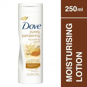 Buy Dove Purely Pampering Shea Butter And Warm Vanilla Body Lotion - Nykaa