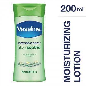 Buy Vaseline Intensive Care Aloe Soothe Body Lotion - Nykaa