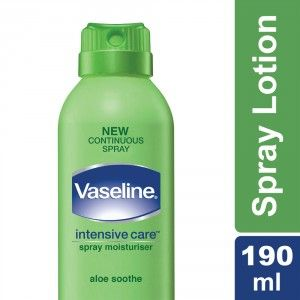 Buy Vaseline Intensive Care Aloe Soothe Spray Moisturiser - Nykaa
